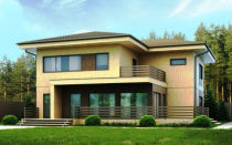 Дома из вертикального бруса – новое решение в домостроении