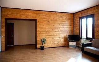 Имитация бруса для внутренней отделки дома