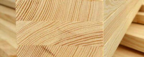 Клееный брус из лиственницы