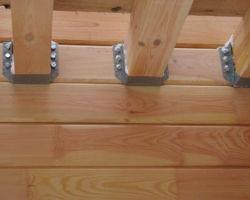 Способы крепления и укладки бруса в строительной практике