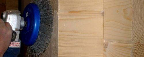 Шлифовка и полировка бруса