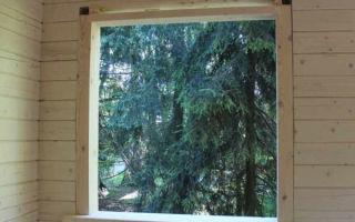 Обсада и окосячка в деревянном доме