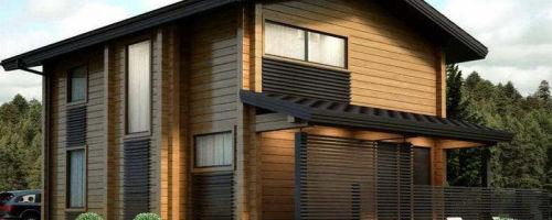 Дом из калиброванного бруса своими руками