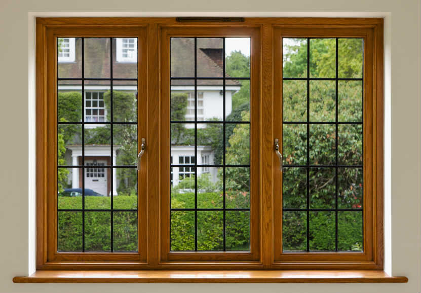 окно сс видом во двор