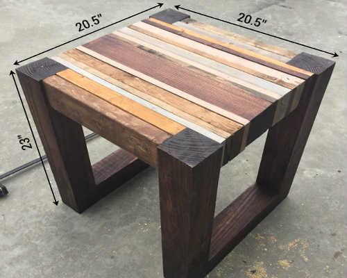 деревянный стол с размерами