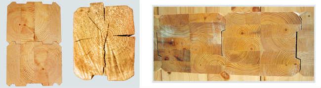 Наличие трещин в обычном брусе