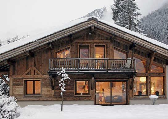 Деревянный дом-шале