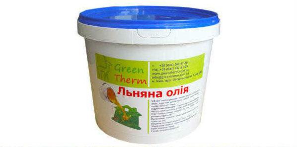 Льняное масло для защиты древесины