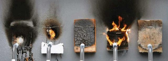 огневые испытания образцов