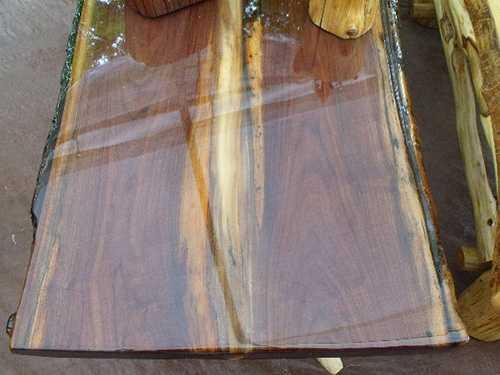 столешница из дерева и жидкого стекла