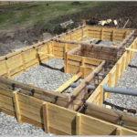Опалубка для заливки бетонного фундамента