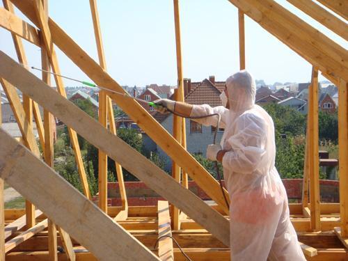 защитная обработка поверхности конструкций